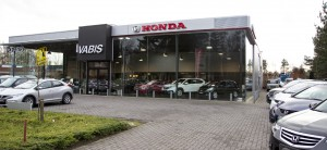 Honda Antwerpen voorzijde gebouw