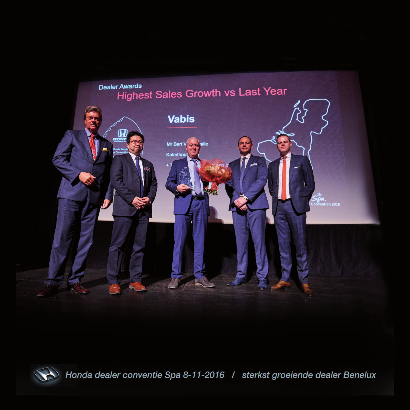 Honda Antwerpen sterkst groeiende dealer