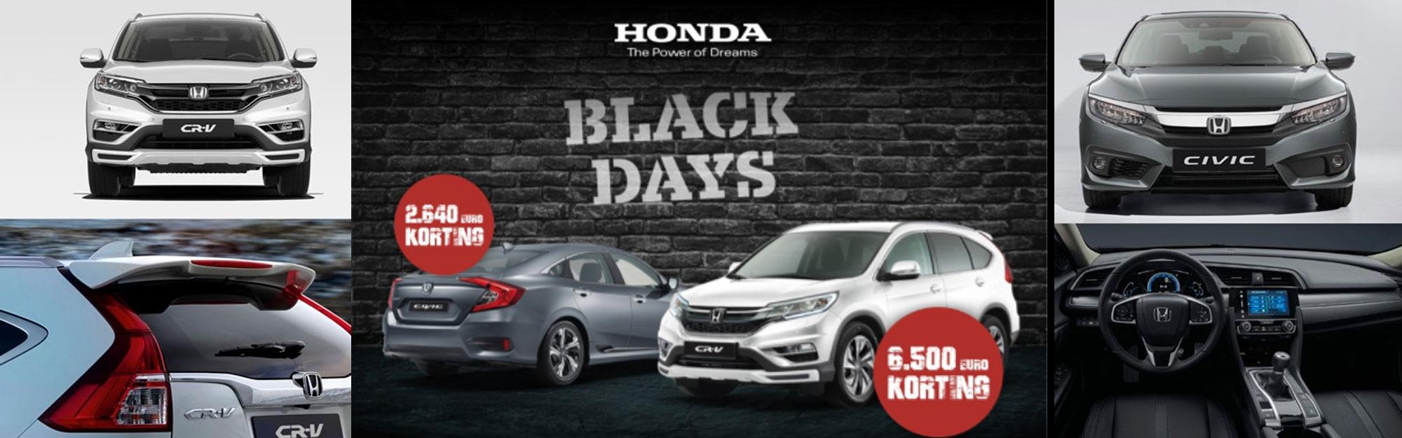 Honda Vabis Black Days 2017